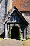 Hambledon Church entrance. Royalty Free Stock Photography
