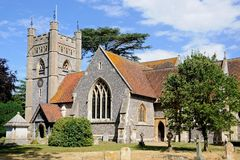 Hambledon church. Royalty Free Stock Images