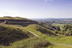 Hambledon Hill,Dorset Royalty Free Stock Image
