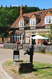 Hambledon village centre. Royalty Free Stock Photography