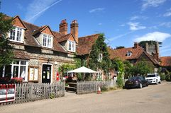 Hambledon village centre. Stock Photo