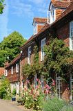 Hambledon village cottages. Royalty Free Stock Image