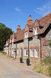 Hambledon village cottages. Stock Image