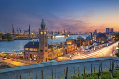 Hambourg, Allemagne Images libres de droits