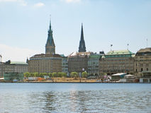 Hambourg, Allemagne Photographie stock libre de droits