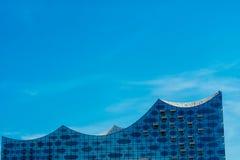Hambourg, Allemagne - 17 avril 2018 : Elbphilharmonie dans le secteur de hafencity, Hambourg, Allemagne images stock