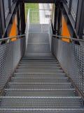 Hambourg, Allemagne - 12 avril 2018 : Point de vue Quartier Baakenhafen à l'université de HafenCity de station de métro photographie stock libre de droits