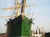 Hambourg, Allemagne Le Rickmer Rickmers images stock