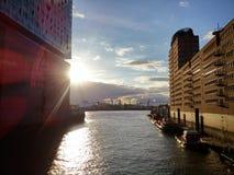 Hambourg Elbphilharmonie Images libres de droits