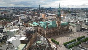 Hambourg germany. Architecture landscape europe Stock Photo