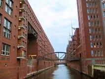 Hambourg Speicherstadt Images libres de droits