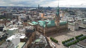 Hambourg Tyskland Arkivfoto