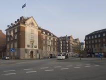 Hambrosgade street, Copenhagen Royalty Free Stock Images