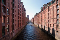 Hamburg. Speicherstadt / storehouses in hamburg / germany Stock Photography