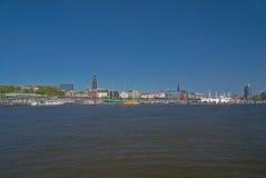 Hamburg. Skyline city of hamburg / germany Royalty Free Stock Image