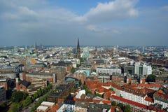 Hamburg, aerial view Stock Image