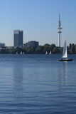 Hamburg Alster Stock Photo