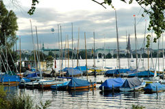 Hamburg Alster2 Stock Photography