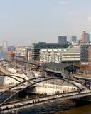 Hamburg Baumwall Arkivfoton