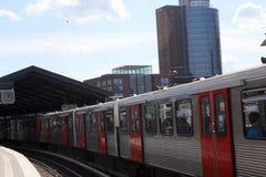 Hamburg, Baumwall underground station Stock Photos