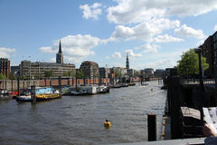 Hamburg Binnenhafen Stock Image