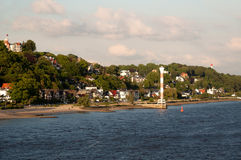 Hamburg Blankenese Stock Images