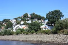 Hamburg Blankenese Hill Germany Stock Photo