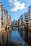 Hamburg canals Stock Photo