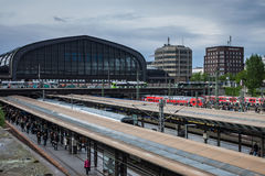 Hamburg Central train station Stock Images