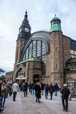 Hamburg Central train station Stock Photos