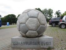 Hamburger SV. Hamburg, Germany. Hamburg city, architecture of the city stock photo