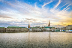 Hamburg royalty free stock photography