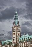 Hamburg city hall Royalty Free Stock Images