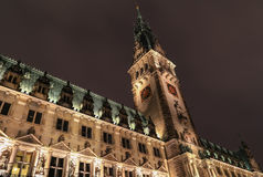 Hamburg City Hall Stock Image