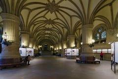 Hamburg City Hall. Lobby Stock Photo