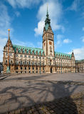 Hamburg City Hall Stock Photography