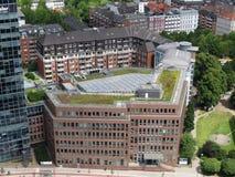 Hamburg, Germany. Panorama of the city. Hamburg city, panorama of the city royalty free stock images