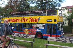 Hamburg City Tour Royalty Free Stock Photo