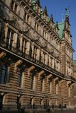 Hamburg City, Town Hall Stock Photos