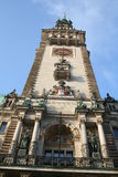 Hamburg City, Town Hall stock photos