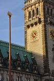 Hamburg city town hall Stock Photo