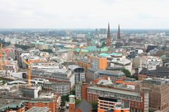 Hamburg cityscape Royalty Free Stock Photo
