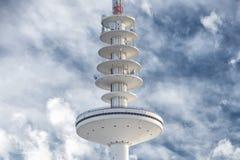 Hamburg communication tower. On sky background Stock Image