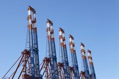Hamburg - Container terminal Stock Photos