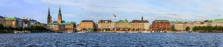 Hamburg Deutschland stockfoto