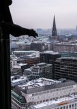 01 02 2011, Hamburg, Deutschland Architektur von Europa Stadtbilder von Hamburg im Winter stockfoto