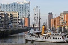 Hamburg, Deutschland - das neue Elbphilharmonie Lizenzfreie Stockfotos
