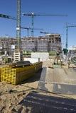 Hamburg (Duitsland) - bouwterrein van Hafencity Royalty-vrije Stock Afbeeldingen