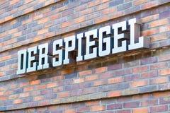 HAMBURG, DUITSLAND - MEI 22, 2016: Duits tijdschrift Der Spiegel Royalty-vrije Stock Fotografie