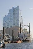 Hamburg, Duitsland - nieuwe Elbphilharmonie Royalty-vrije Stock Fotografie